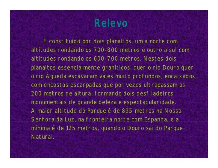 Parque natural do douro internacional Slide 3
