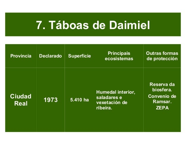 Táboas de Daimiel
