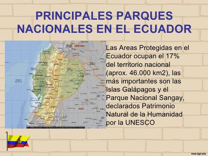 Parques nacionales del ecuador