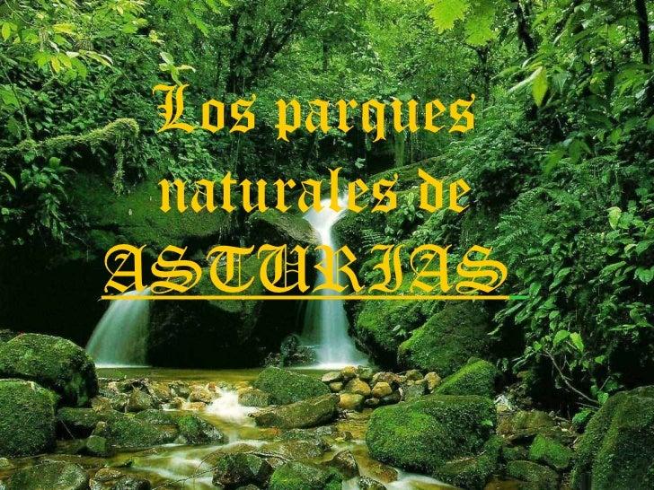 Los parques naturales de  ASTURIAS