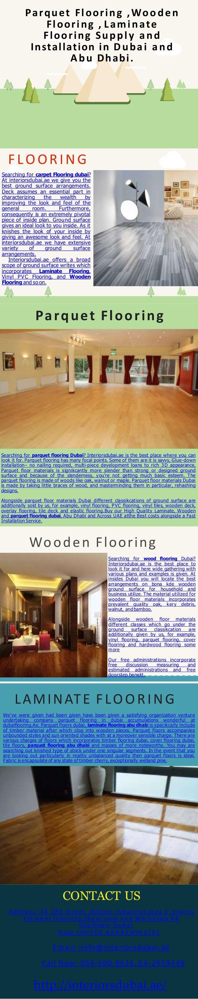 Parquet Flooring Woode N Laminate Supply And Installation In Dubai A