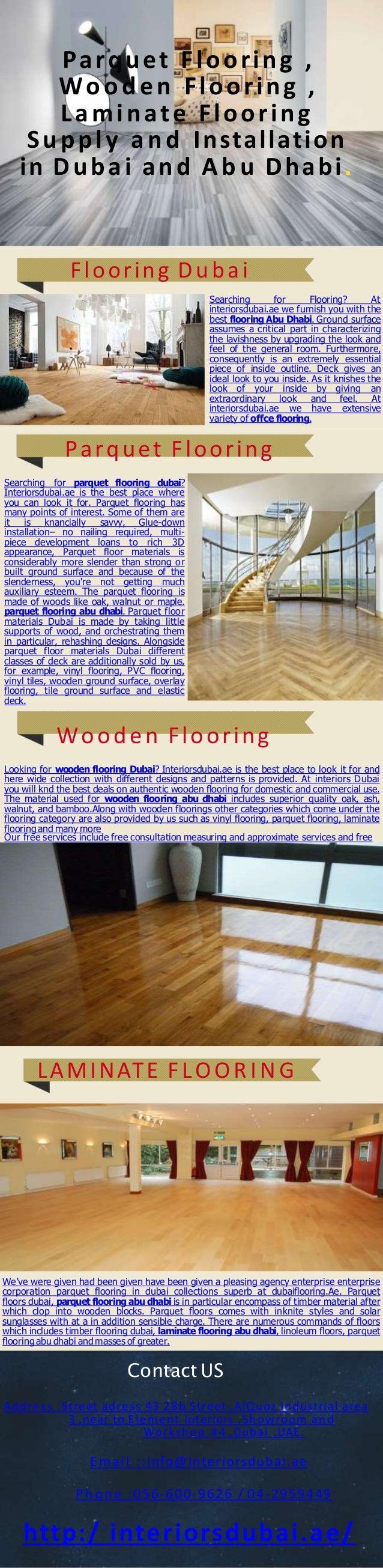 Parquet Flooring Wooden Laminate Supply And Installation In Dubai A B U