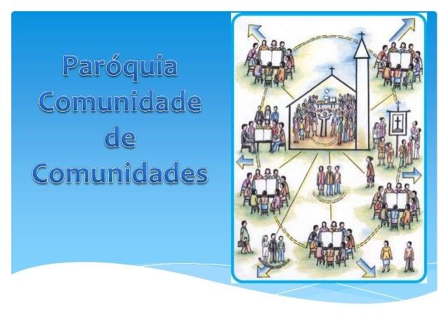 COMUNIDADE DE COMUNIDADES – UMANOVA PARÓQUIACOMO ESTÃO LOCALIZADOS OS GRUPOSDE REFLEXÃO DA PALAVRA EM NOSSAPARÓQUIA?O QUE ...