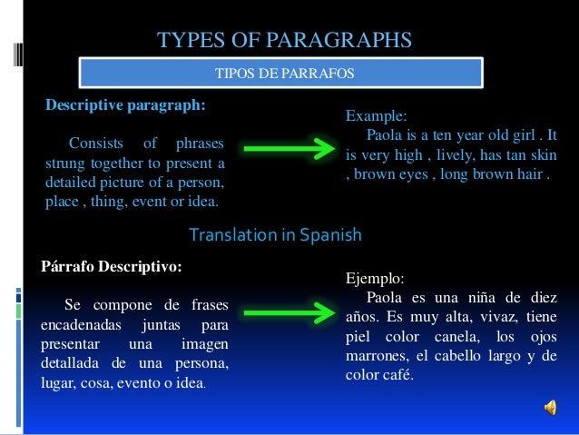Parrafos En Ingles