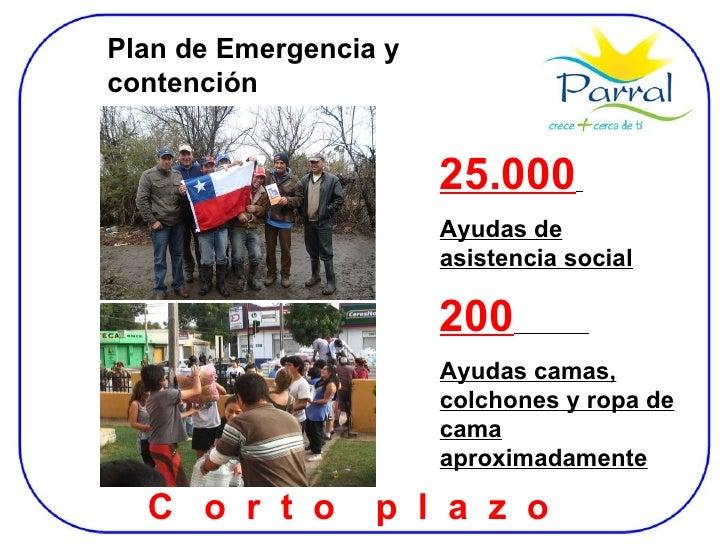 Plan de Emergencia y contención 25.000   Ayudas de asistencia social 200   Ayudas camas, colchones y ropa de cama aproxima...