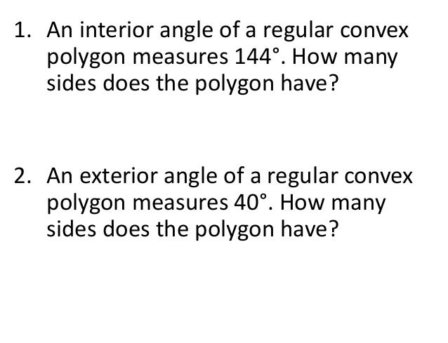 Parralelogram day 2 - Total exterior angles of a polygon ...