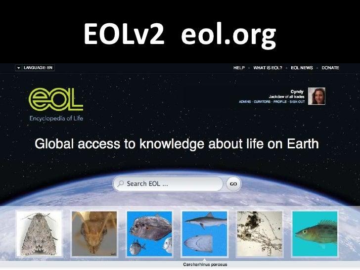 EOLv2 eol.org