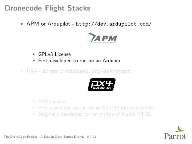 Kernel Recipes 2015 - The Dronecode Project – A step in open