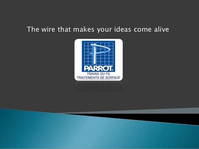 The wire that makes your ideas come alive