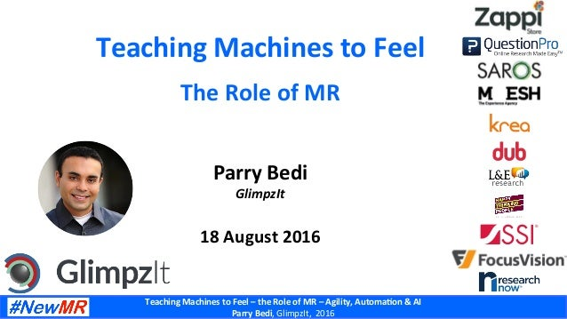 Teaching  Machines  to  Feel  –  the  Role  of  MR  –  Agility,  Automa8on  &  AI     Parry...