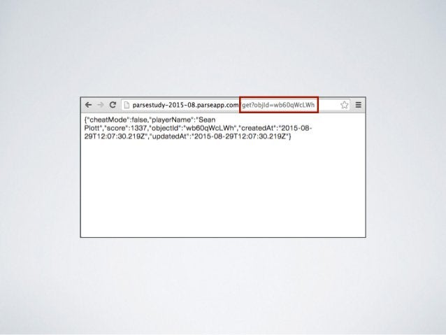 https://www.parse.com/tutorials 파스닷컴의 튜토리얼은 잘 준비되어 있습니다.