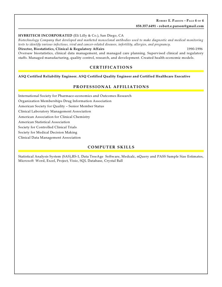 5 - Asq Certified Quality Engineer Sample Resume