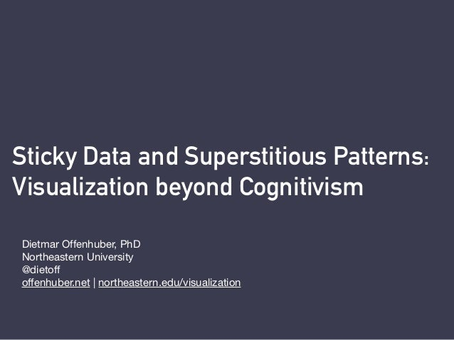 Sticky Data and Superstitious Patterns: 