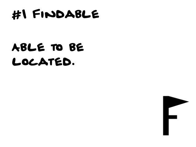 #2 AccessibleEasilyapproachedand/or entered