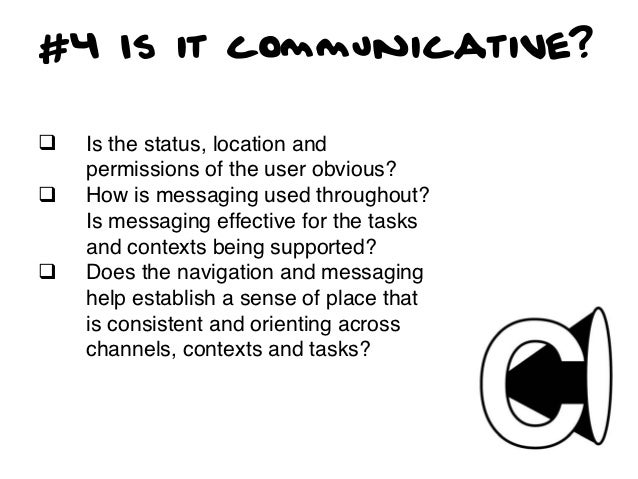 #5 Is it Useful?q   Is it usable? Are users able to     complete the tasks that they set out     to without massive frust...