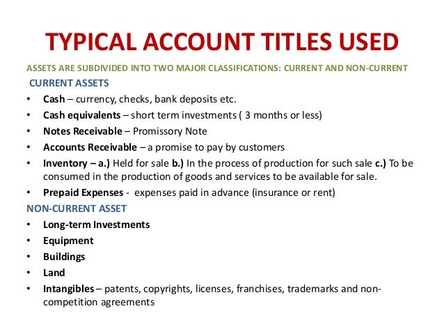 intro to accounting notes Introduction to accounting basics, a story for relating to accounting basics this explanation of accounting basics will introduce you to some basic accounting principles, accounting concepts, and accounting terminology once you become familiar with some of these terms and concepts, you will feel .