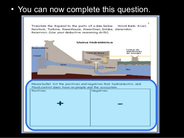 • You can now complete this question.