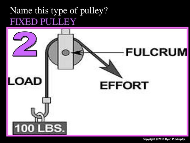 Simple Machines Pulley Questions : Simple machines quiz