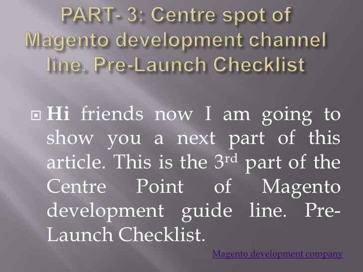    Hi friends now I am going to    show you a next part of this    article. This is the 3rd part of the    Centre Point o...