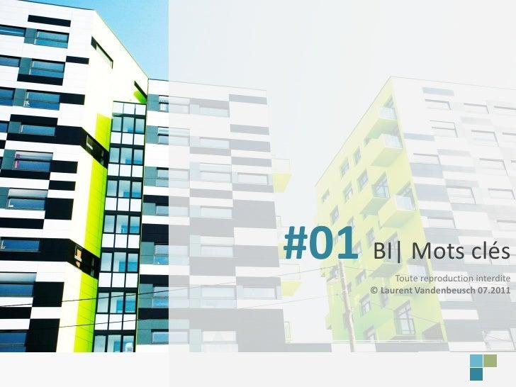 BI | Mots-clésLaurent Vandenbeusch                       #01 BI| Mots clés                                  Toute reproduc...