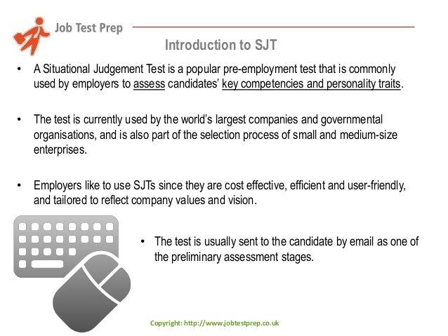 Situational Judgement Test - Preparation Guide Part #1