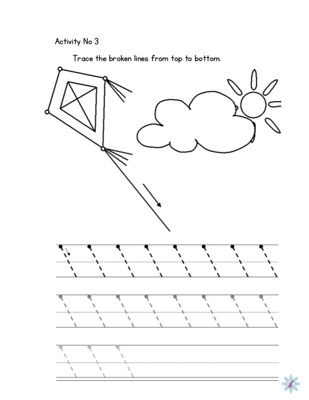 Worksheets Dysgraphia Worksheets worksheet for dysgraphia activity no 3 trace the broken lines from top to bottom