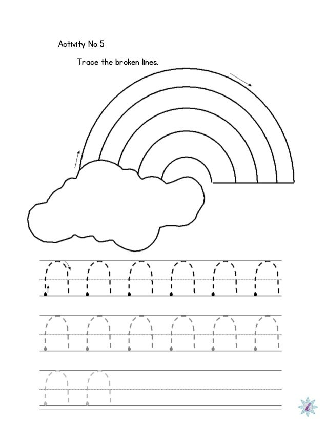 Printables Dysgraphia Worksheets worksheet for dysgraphia activity no 5 trace the broken lines