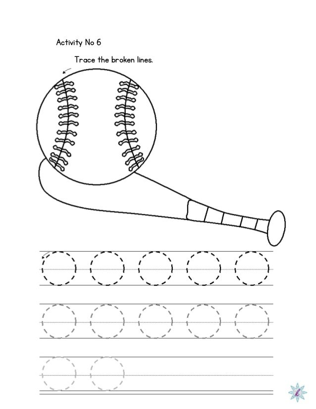 Printables Dysgraphia Worksheets worksheet for dysgraphia activity no 6 trace the broken lines