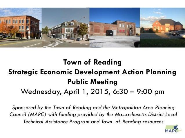 Reading Strategic Economic Development Action Plan Part 1