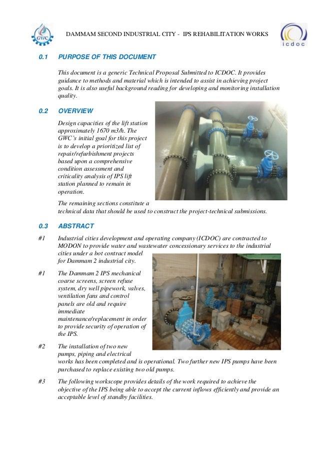 dammam second industrial city - ips rehabilitation works