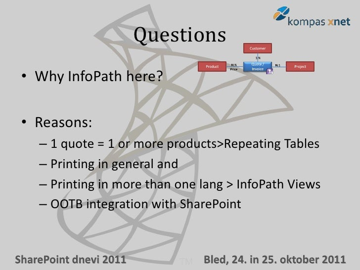Building business forms with InfoPath 2010 and SharePoint