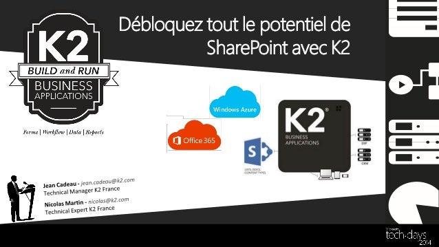 Débloquez tout le potentiel de SharePoint avec K2