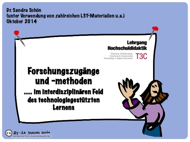 Dr. Sandra Schön  (unter Verwendung von zahlreichen L3T-Materialien u.a.)