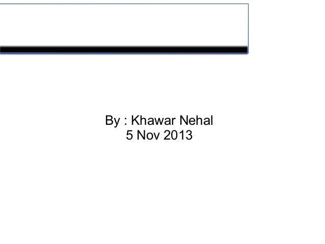 Petroleum Quality  By : Khawar Nehal 5 Nov 2013