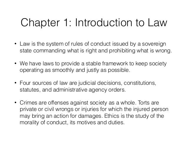 chapter 2 legal environment of business Business law and the legal environment v 10  chapter 2: corporate social  responsibility and business ethics  chapter 3: courts and the legal process.