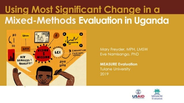Using Most Significant Change in a Mixed-Methods Evaluation in Uganda