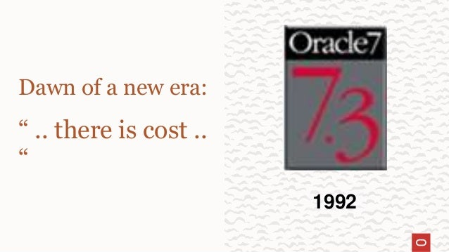 """Dawn of a new era: """" .. there is cost .. """" 1992"""