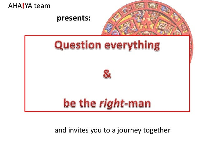 AHA!YA team  presents:  and invites you to a journey together
