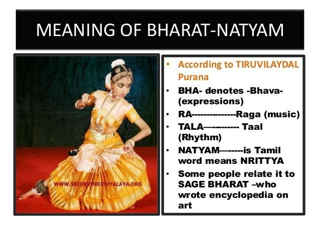 Basics of Bharat-natyam