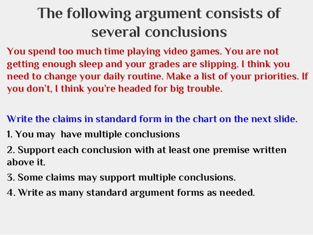 Understanding Logical Argumentation, Structure, and Reasoning