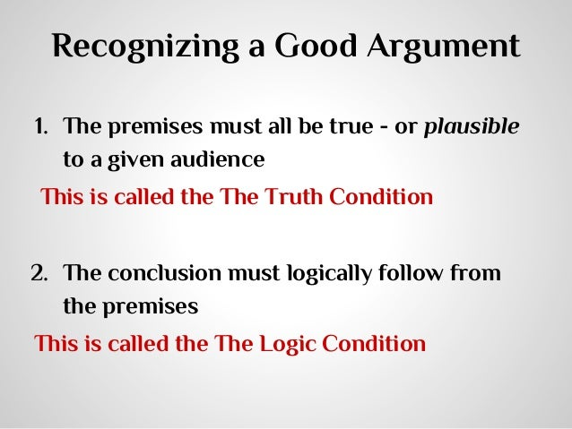 """an introduction to the logical structure of arguments Constructing arguments in  make sure you have a valid logical structure 2)  one response to """"argument formation for academic writing."""