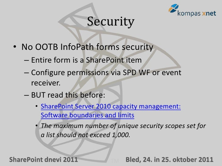 Building business forms with InfoPath 2010 and SharePoint 2010 – Part…