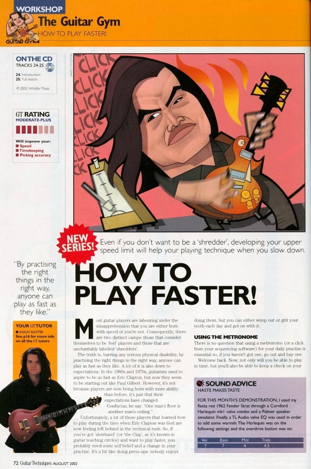 how to play mandolin faster