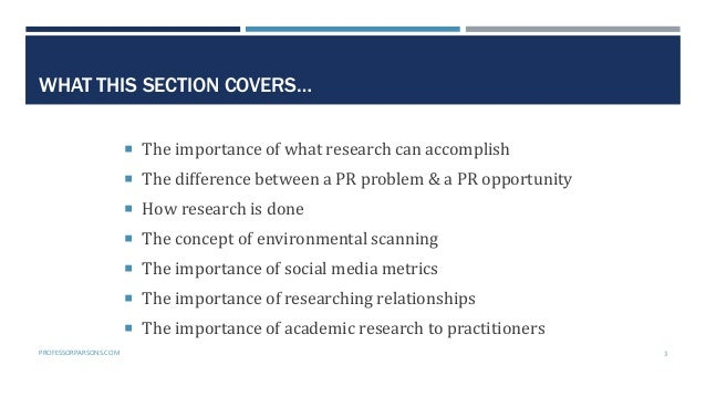 Public Relations Planning Course Part 2: The research phase Slide 3