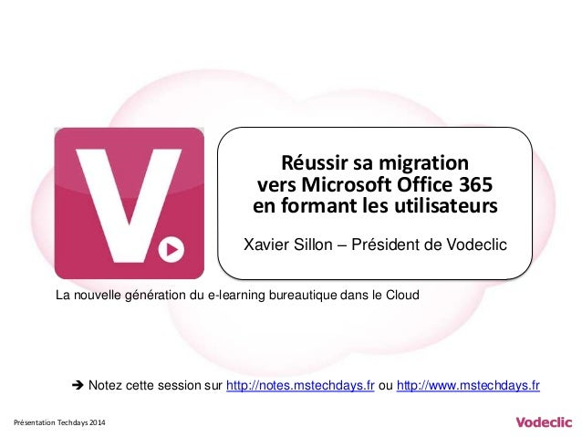 R ussir sa migration vers office 365 en formant les utilisateurs - Office de migration internationale ...