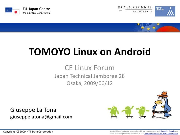 TOMOYO Linux on Android                                              CE Linux Forum                                       ...
