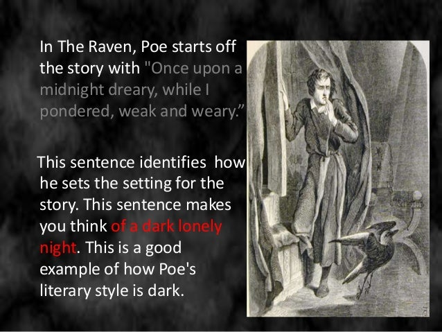 the setting and the narrative style in four short stories by edgar allan poe The cask of amontillado, which first appeared in godey's lady's book in 1846 style and interpretation poe's story is a case of premeditated murder editors of the short fiction of edgar allan poe.
