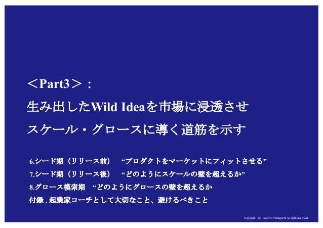 Copyright (c) Takahiro Yamaguchi All rights reserved.Copyright (c) Takahiro Yamaguchi All rights reserved. <Part3>: 生み出したW...