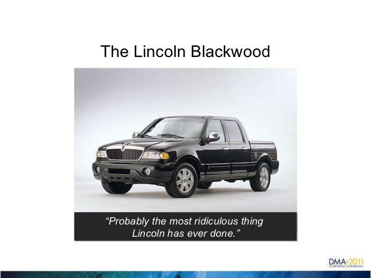 "The Lincoln Blackwood "" Probably the most ridiculous thing  Lincoln has ever done."""