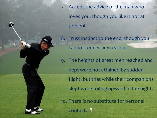 Inspirational Golf Quotes Fascinating Gary Player Motivational Thoughts And Quotes.